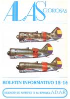 Alas gloriosas Núm. 15 y 16 agosto 1981