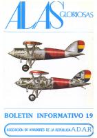 Alas gloriosas Núm. 19 Febrero 1982