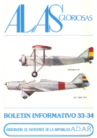 Alas gloriosas Núm. 33 y 34 Agosto 1984