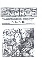 Ícaro Núm. 1990-19 Diciembre 1990