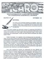 Ícaro Núm. 1991-23 Septiembre 1991