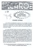 Ícaro Núm. 1992-27 Junio 1992