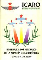 Ícaro Extraordinario Homenaje A la Aviación de la República abril 2005
