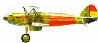 "Hawker ""Spanish"" Fury"