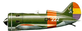 """Polikarpov I-16 """"Mosca"""""""