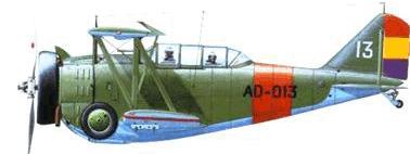 "Grumman-CCF G-23 ""Delfin"" (fuente sbhac)"