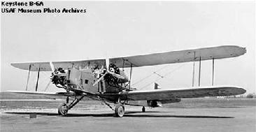 Keystone B-6, aun en servicio USA en 1936