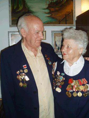 Luis Lavín y su esposa Svetlana. Fotografía gentileza de Josu García